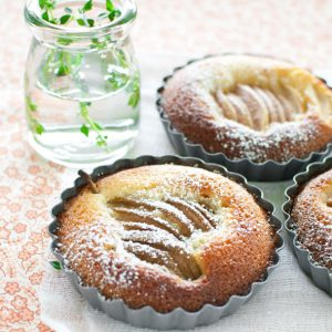 No Pastry Pear Tarts